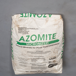 Azomite Micronized Powder, Natural Volcanic Rock Mineral Amendment