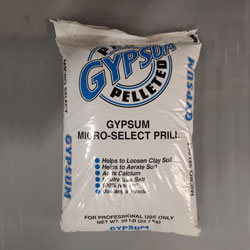 Gypsum, Pelletized Natural Mined Calcium Sulfate Soil Conditioner, 24% Calcium